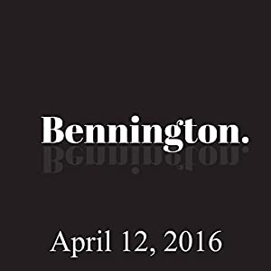 Bennington, Hayes Carll, April 12, 2016 Radio/TV Program