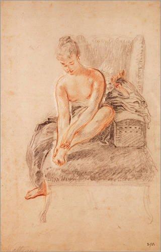 Poster 70 x 110 cm: Semi-nackte