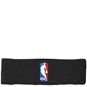 NBA Logoman Headband - Black - Black One Size