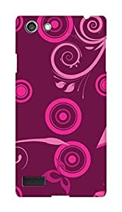 SWAG my CASE PRINTED BACK COVER FOR OPPO NEO 7 Multicolor