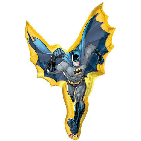 "Batman Action Shaped 39"" Mylar Balloon"
