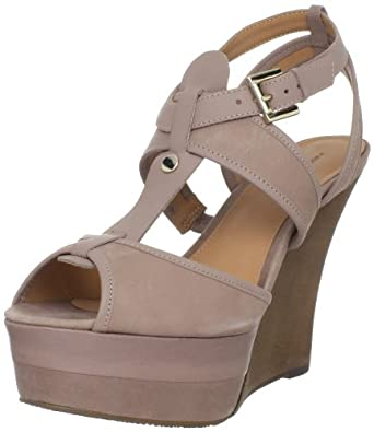 Madison Harding Women's Dottie Wedge Sandal,Clay,8 M US