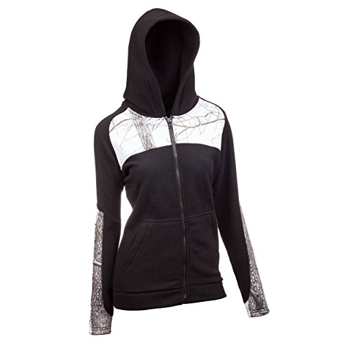 Why Should You Buy Huntworth Women's 2 Tone Fleece Full Zip with Hood