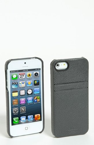 Special Sale August Accessories HX1307-TOGY Hex: Solo Wallet iPhone 5 Case - Retail Packaging - Torino Grey
