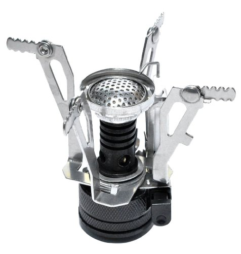 Ultralight Backpacking Canister Camp Stove Burner