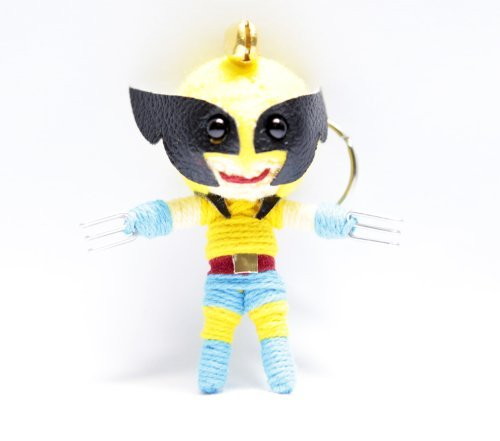 Wolverine Voodoo String Doll Keyring Keychain - 1