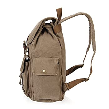 Hynes Eagle Retro Designer Canvas Backpack 28 Liter