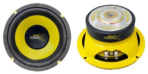 "2) Pyle PLG64 6.5"" 600 Watt Car Mid Bass/Midrange Subwoofers"