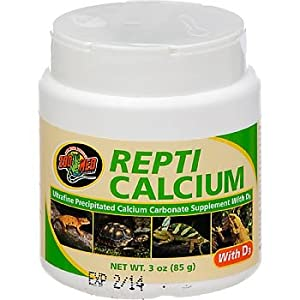 Repti Calcium with D3.