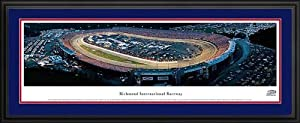 NASCAR Tracks - Richmond Intl Raceway Aerial - Night - Framed Poster Print by Laminated Visuals