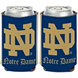 """Notre Dame Fighting Irish Official NCAA 4"""" Tall Coozie Can Cooler 2-Pack"""