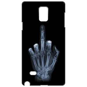 a AND b Designer Printed Mobile Back Cover / Back Case For Samsung Galaxy Note 4 (SG_N4_3D_1595)