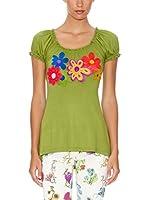 Mamatayoe Camiseta Manga Corta Cassatta (Verde)