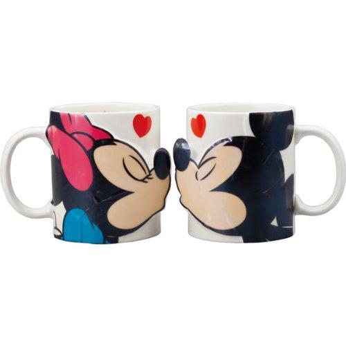 ディズニー ミッキーマウス&ミニーマウス ペアマグ キス SAN2148