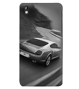 Printvisa Premium Back Cover Speeding Jaguar Design For HTC Desire 816::HTC Desire 816 G