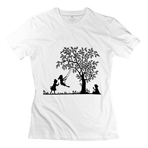Happy Childhood Fantastic Women T-Shirts Medium White