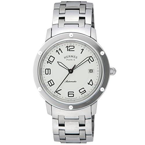 [エルメス]HERMES 腕時計 クリッパー ホワイト文字盤 自動巻 CP2.810.220.4964 メンズ 【並行輸入品】