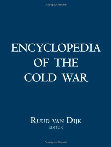 Encyclopedia of the Cold War (2 Volume Set)