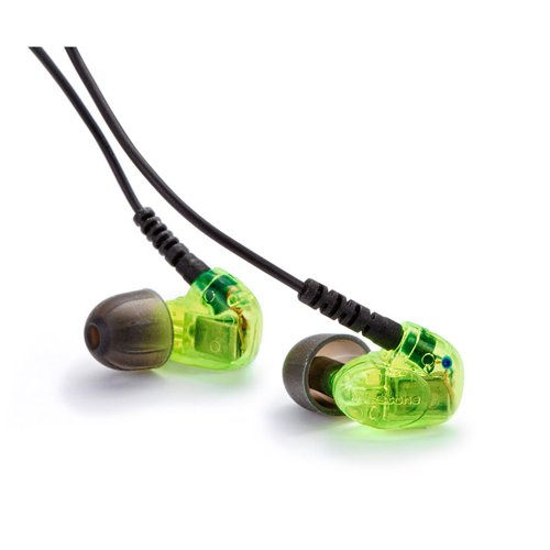 Westone Universal Series Um 1 Cable Green In-Ear Audio Monitor, Green
