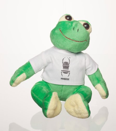 Original Geocaching Travel Bug ® Maskottchen Stofftier Frosch (Frog)