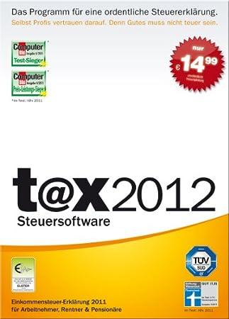 t@x 2012 (für Steuerjahr 2011) [Download]