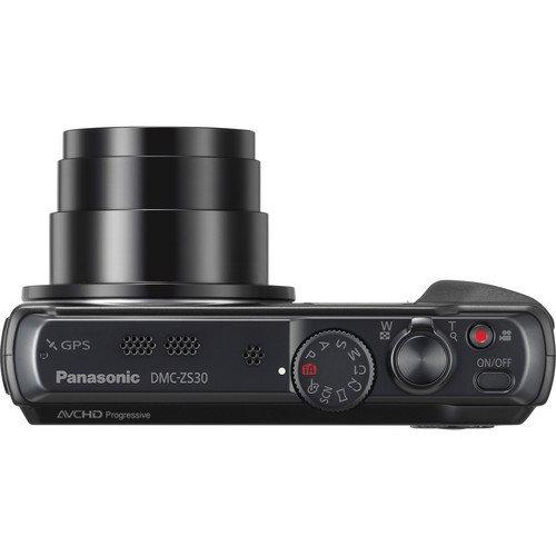 Panasonic Lumix DMC-ZS30 Digital Camera (Black) Big SALE
