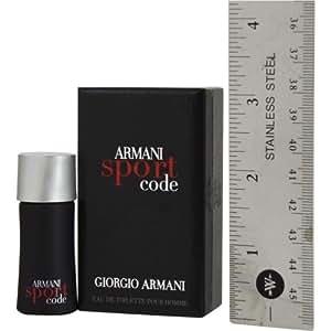 armani code sport by giorgio armani edt 14. Black Bedroom Furniture Sets. Home Design Ideas