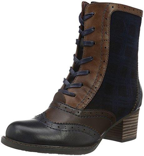 Laura VitaALEXIA 05 - Stivali a metà gamba con imbottitura pesante  Donna , Blu (Blu (Bleu)), 37 EU