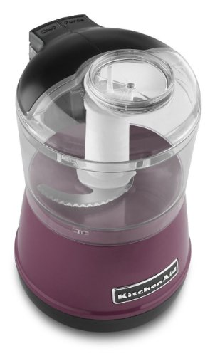 Kitchenaid Kfc3511 Kfc3511by 3.5 Cup Food Chopper Processor Boysenberry