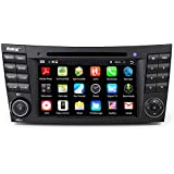 Rupse 7 inch HD Android 4.4.4 Car DVD Player GPS Navigation Stereo with bluetooth WIFI SWC functioin For Mercedes Benz E-Class W211(2002-2008)