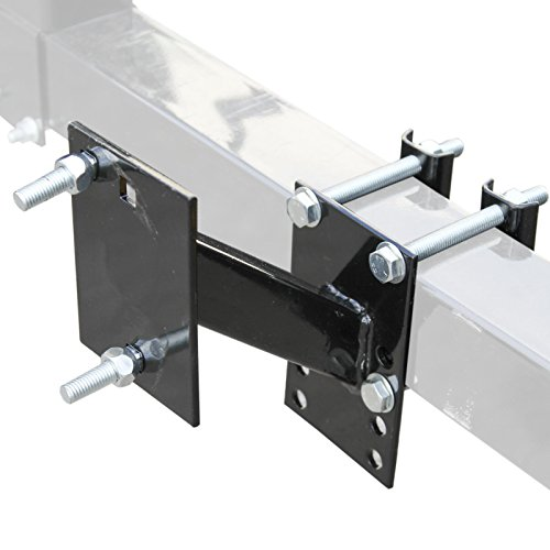 Spare Tire Wheel Mount - Boat & Utility Trailer Bracket Carrier New (Trailer Spare Carrier compare prices)