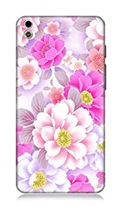 HTC Desire 816 3Dimensional High Quality Designer Back Cover by 7C