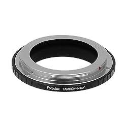 Fotodiox Tamron Adaptall II Lens Adapter for Nikon, fits Nikon D1, D1H, D1X, D2H, D2X, D2Hs, D2Xs, D3, D3X, D3s, D4, D100, D200, D300, D300S, D700, D800, D800E, D40, D50, D60, D70, D70S, D80, D40X, D90, D3000, D3100, D3200, D5000, D5100, D7000, Fuji S1, S2, S3, S5