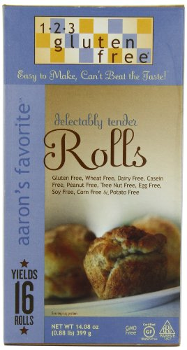 123 Gluten Free Aaron's Favorite Rolls Mix 14.80 Ounces