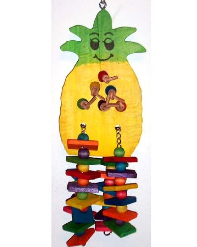 Cheap Featherland Pineapple Bird Toy Large (B001LDKVZO)