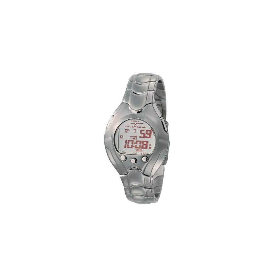 08a073355 YEMA by Seiko of France RALLYGRAF Mens Digital Alarm/Chronograph Watch.  Model YM459