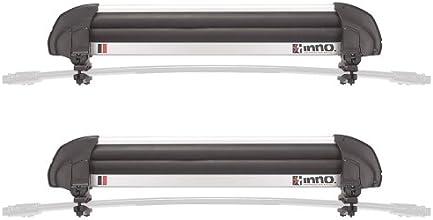 カーメイト(CARMATE) inno スキースノボアタッチメント グラブマックス6S ユニクランプ INA940JPブラック/シルバー