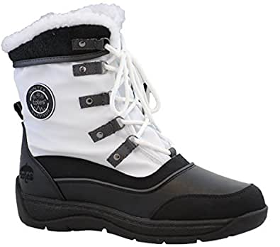 Totes Womens Vail Snow Boot (Available in Medium and Wide
