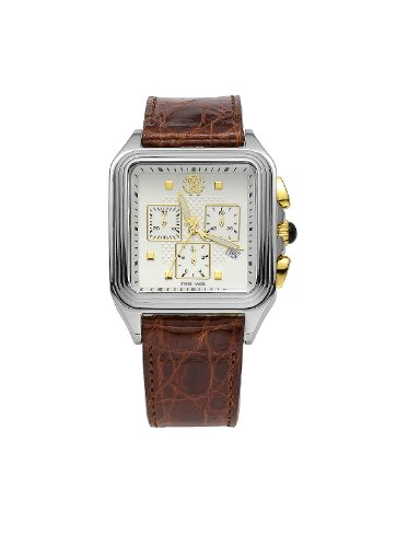 roberto cavalli mens watches uk watches store roberto cavalli men s venom chronograph watch r7251692045 quartz movement leather bracelet and white dial