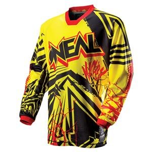 O'Neal Racing Youth Mayhem Roots Jersey - 2013 - Youth X-Large/Yellow/Red