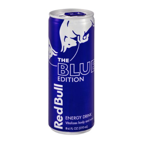 Red Bull The Blue Edition Energy Drink (611269235685)