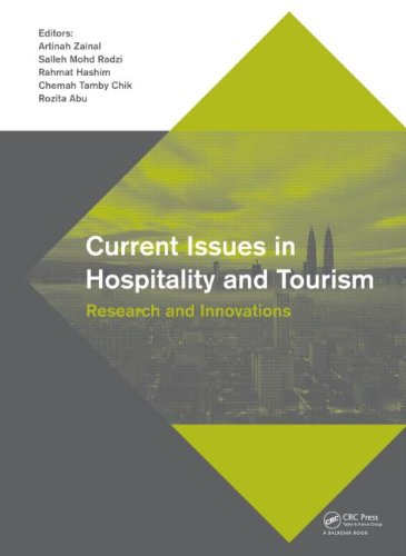 Current Issues in Hospitality and Tourism: Research and Innovations