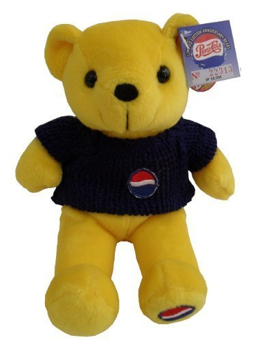 Pepsi Cola 100th Anniversary 1999 Bear#3- Yellow Bear by Dart Flipcards Inc. günstig bestellen
