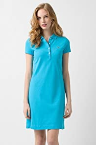 Short Sleeve Stretch Pique Classic Polo Dress