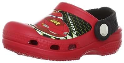 Crocs Lightning McQueen, Sabots mixte enfant, Rouge (Red), EU 29-31, (US C12C13)
