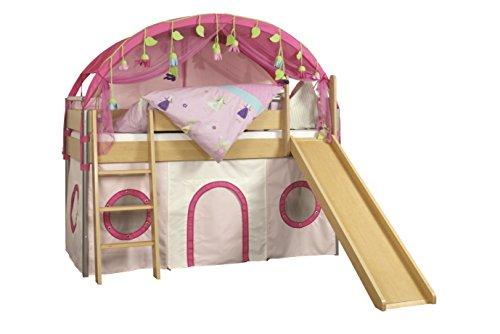 roba abenteuerbett system spielbett mit leiter und rutsche 90x200 cm 52283 preisvergleich. Black Bedroom Furniture Sets. Home Design Ideas