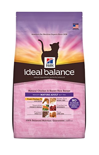 Hill's Ideal Balance Natural Chicken & Brown Rice Recipe Mature Adult