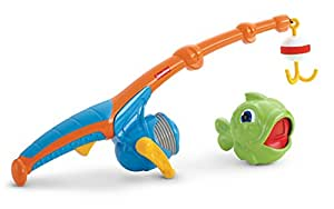 fisher price fishing pole toys games