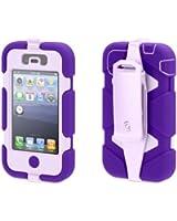 Griffin Purple/Lavender Heavy Duty Survivor All-Terrain Case for iPhone 4/4s