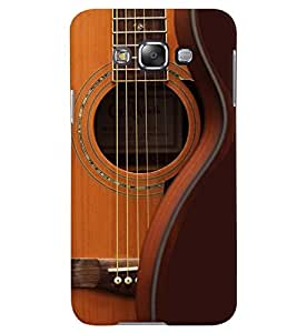 PrintVisa Music Guitar Strings 3D Hard Polycarbonate Designer Back Case Cover for Samsung Galaxy Grand 3